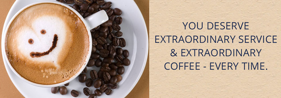 Extraordinary service and extraordinary cofee