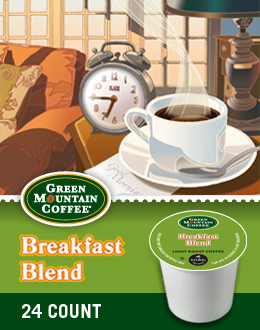 Green Mountain Breakfast Blend single cup